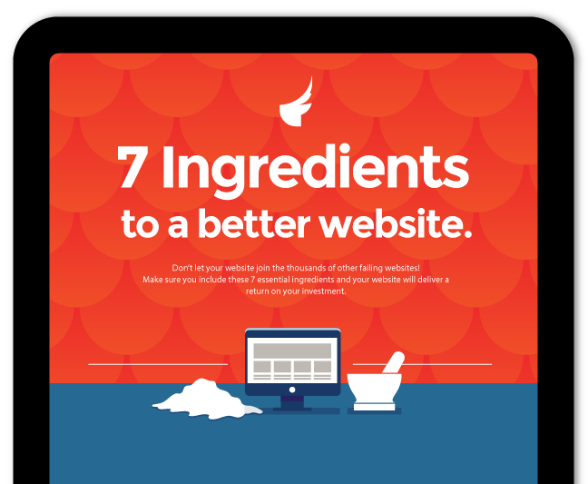 7 ingredients to a better website