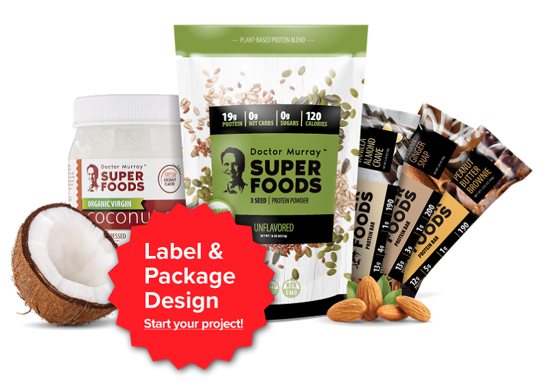 Image of Label and Package design by FlyBox Media